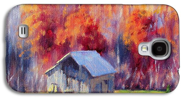 Hardy Road Barn- In Autumn Galaxy S4 Case