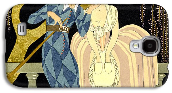 Harlequin's Kiss Galaxy S4 Case by Georges Barbier
