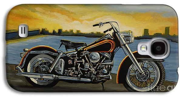 Harley Davidson Duo Glide Galaxy S4 Case by Paul Meijering