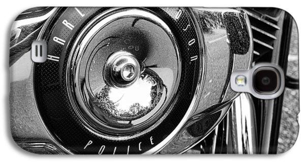 Harley Davidson Police Motorcycle Galaxy S4 Case by Paul Ward