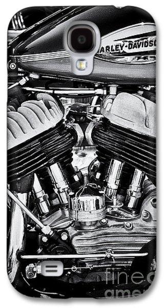 Harley Davidson Wla Monochrome Galaxy S4 Case