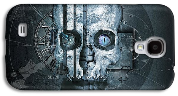 Harmagedon Blue-gray Galaxy S4 Case by Franziskus Pfleghart