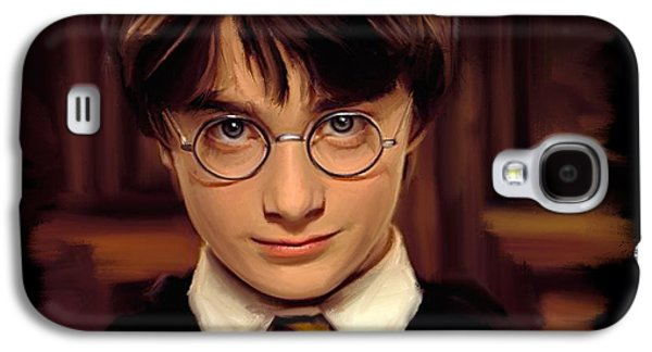 Wizard Galaxy S4 Case - Harry Potter by Paul Tagliamonte