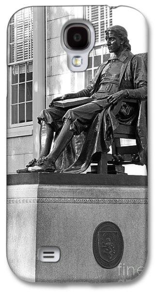 John Harvard Statue At Harvard University Galaxy S4 Case by University Icons
