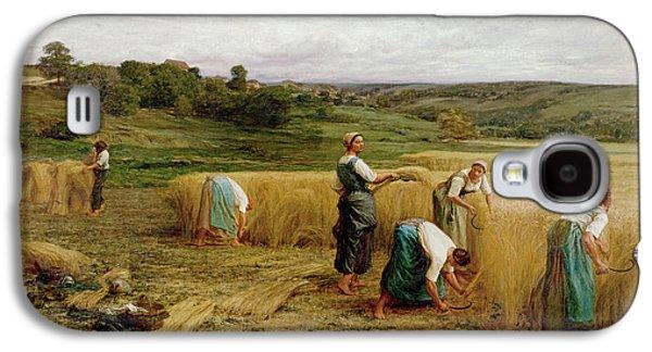 Harvest Galaxy S4 Case by Leon Augustin Lhermitte