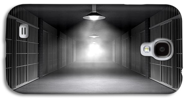 Haunted Jail Corridor And Cells Galaxy S4 Case