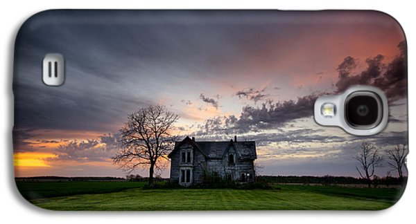 Haunted Sunset Galaxy S4 Case by Cale Best