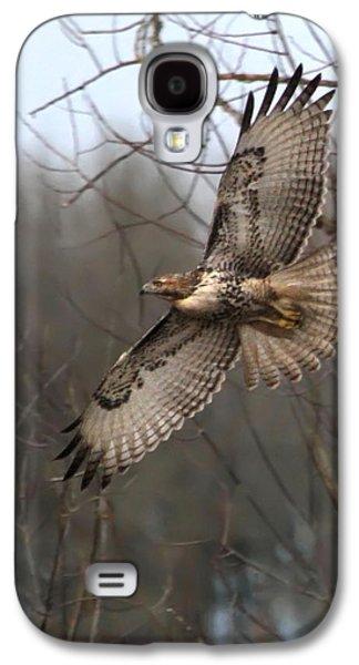 Hawk In Flight Galaxy S4 Case