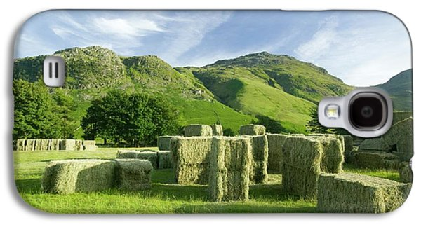 Hay Bales Galaxy S4 Case by Ashley Cooper