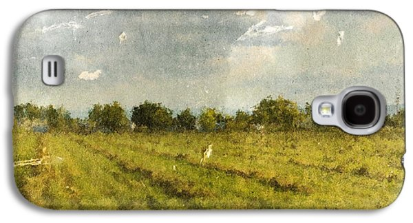 Hay Fields In September Galaxy S4 Case