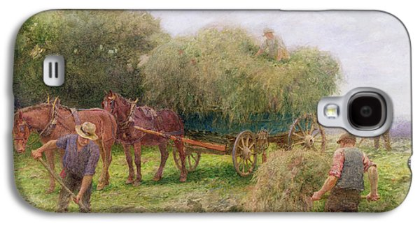 Haymaking Galaxy S4 Case by Arthur Hopkins