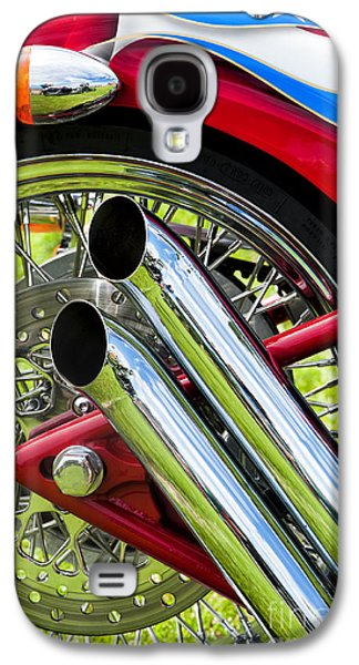 Hd Custom Drag Pipes Galaxy S4 Case by Tim Gainey