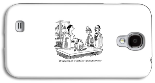 He Is Physically Able To Wag His Tail - Given Galaxy S4 Case by Edward Frascino