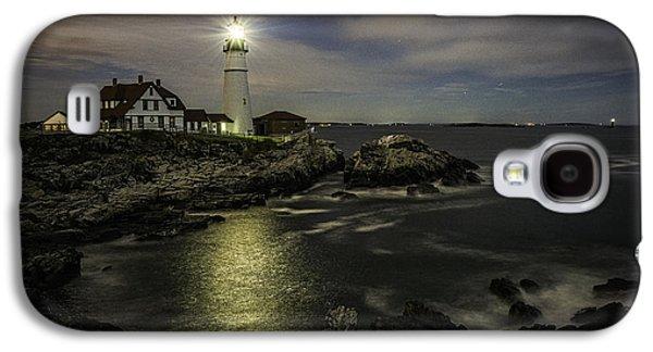 Head Light By Night Galaxy S4 Case