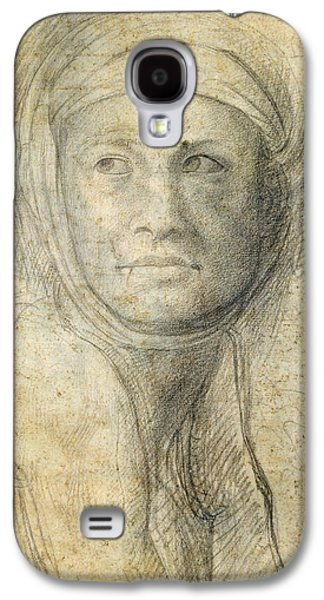 Head Of A Woman Galaxy S4 Case