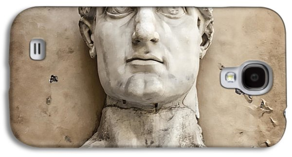 Head Of Constantine Galaxy S4 Case by Joan Carroll