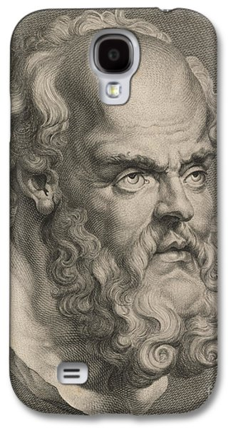 Head Of Socrates Galaxy S4 Case by Anonymous