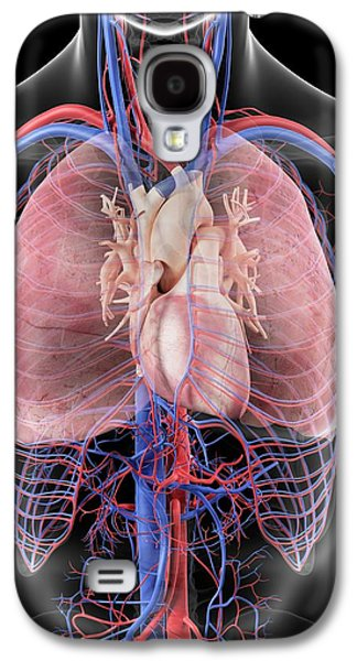 Heart And Lungs Galaxy S4 Case