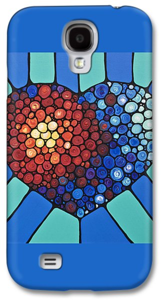 Heart Art - Love Conquers All 2  Galaxy S4 Case by Sharon Cummings