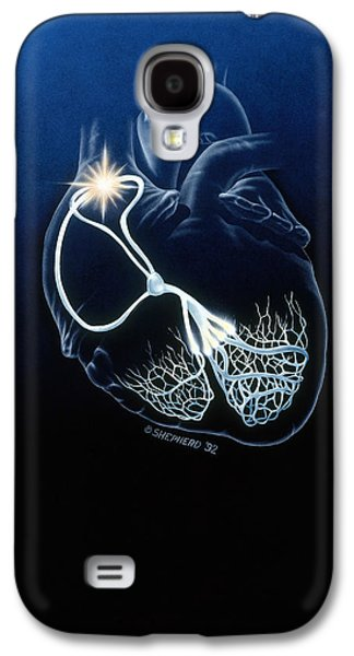Heart Conduction System Galaxy S4 Case