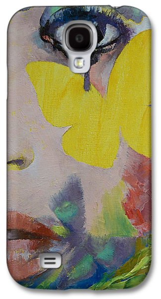 Heart Obscured By The Moon Galaxy S4 Case by Michael Creese