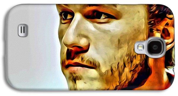 Heath Ledger Portrait Galaxy S4 Case by Florian Rodarte