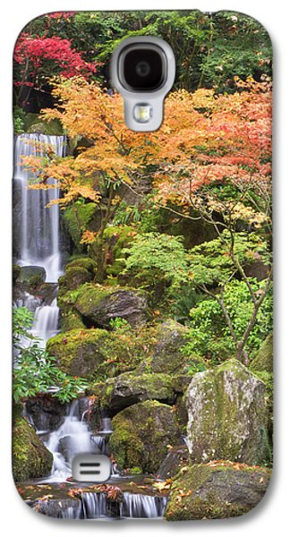 Heavenly Falls And Autumn Colors Galaxy S4 Case by William Sutton