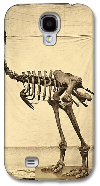 Heavy Footed Moa Skeleton Galaxy S4 Case