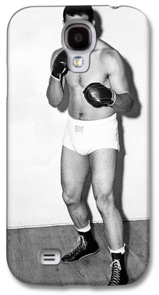 Heavyweight Champion Joe Louis Galaxy S4 Case by Underwood Archives