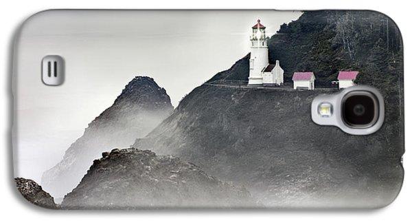 Heceta Head Lighthouse Galaxy S4 Case by Leland D Howard