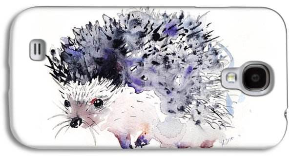 Hedgehog Galaxy S4 Case by Krista Bros