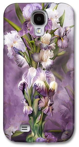 Heirloom Iris In Iris Vase Galaxy S4 Case