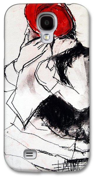 Helene #1 - Figure Series Galaxy S4 Case by Mona Edulesco