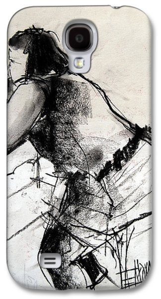 Helene #2 - Figure Series Galaxy S4 Case by Mona Edulesco