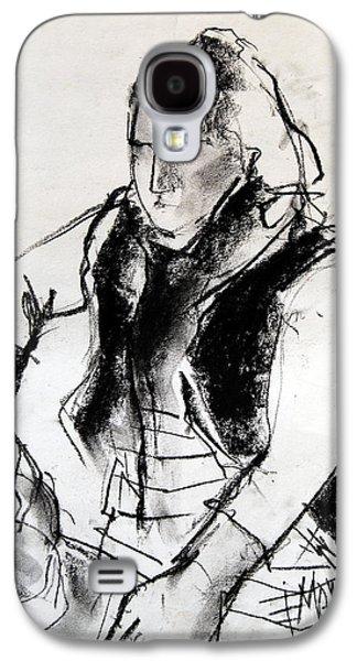Helene #3 - Figure Series Galaxy S4 Case by Mona Edulesco