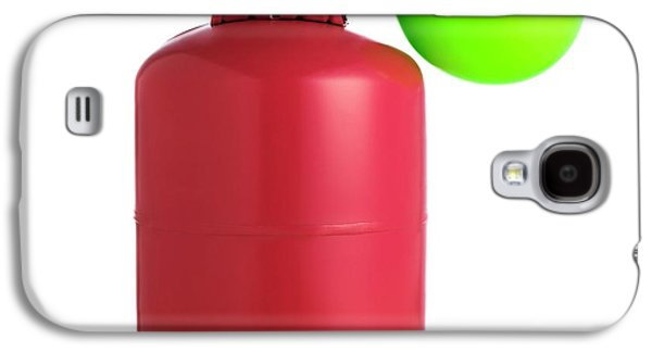 Helium Gas Cylinder And Balloon Galaxy S4 Case