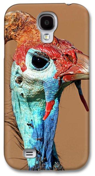 Helmeted Guineafowl Head Galaxy S4 Case