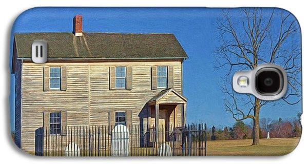 Henry House In Winter / Manassas National Battlefield Galaxy S4 Case