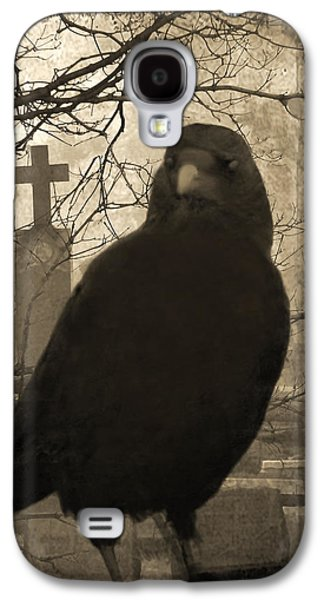 Her Graveyard Galaxy S4 Case by Gothicrow Images