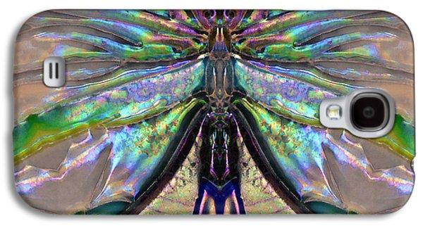 Her Heart Has Wings - Spiritual Art By Sharon Cummings Galaxy S4 Case by Sharon Cummings