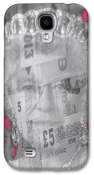 Her Majesty Queen Elisabeth Galaxy S4 Case