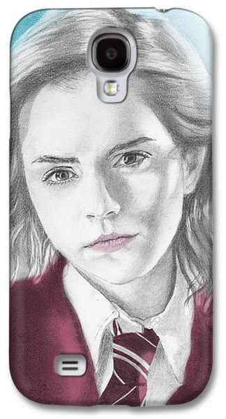 Hermione Granger - Individual Blue Galaxy S4 Case by Alexander Gilbert
