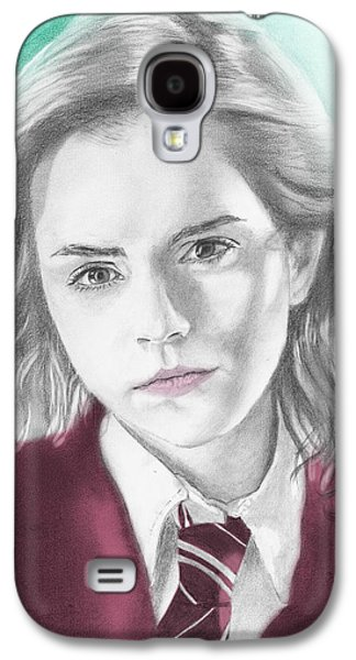 Hermione Granger - Individual Green Galaxy S4 Case by Alexander Gilbert