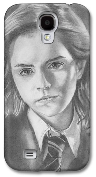 Hermione Granger - Pencil Galaxy S4 Case by Alexander Gilbert