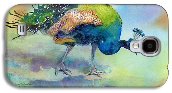 Peacock Galaxy S4 Case - Hey Good Lookin by Amy Kirkpatrick