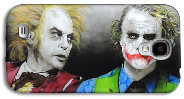 Health Ledger - ' Hey Why So Serious? ' Galaxy S4 Case