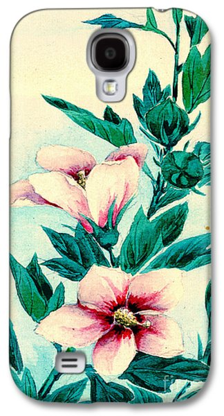 Hibiscus Flowers 1870 Galaxy S4 Case