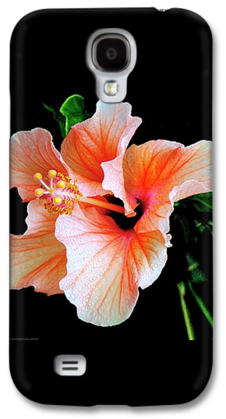 Hibiscus Spectacular Galaxy S4 Case by Ben and Raisa Gertsberg