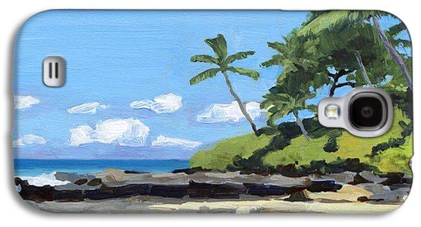 Hidden Beach Makena Galaxy S4 Case by Stacy Vosberg