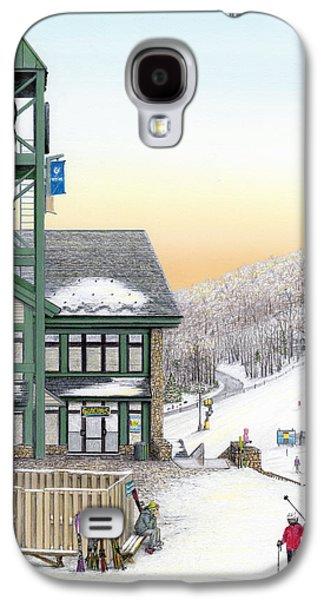 Hidden Valley Ski Resort Galaxy S4 Case by Albert Puskaric